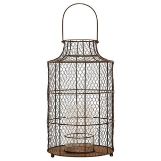 Dimond Home Small Chicken wire Hurricane