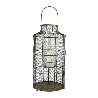 Dimond Home Large Chicken wire Hurricane
