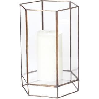 Dimond Home Small Glass Oriel Hurricane
