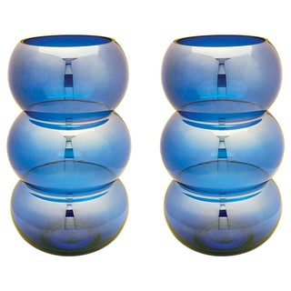 Dimond Home Cobalt Ring Votive (Set of 2)