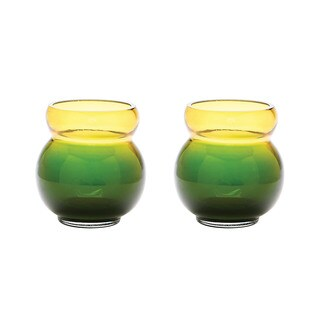 Dimond Home Field Bubble Votive (Set of 2) (Option: Green)