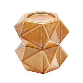 Dimond Home Honey Large Ceramic Star Candle Holders (Set of 2)
