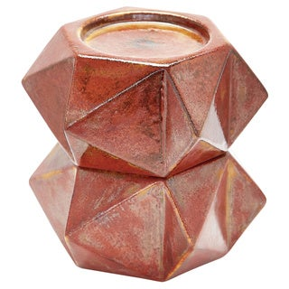 Dimond Home Russet LS Large Ceramic Star Candle Holders (Set of 2)