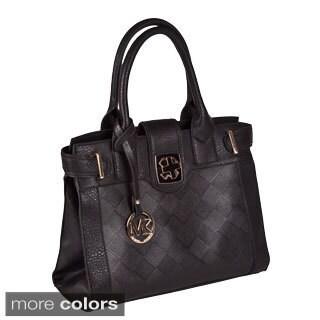 Michael Michelle 'Elizabeth' Vegan Leather Tote Bag