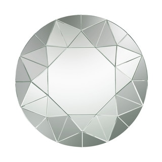 Dimond Home Circular Geometric Mosaic Mirror