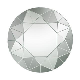 Dimond Home Circular Geometric Mosaic Mirror