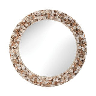 Dimond Home 31-inch Round Shell Mirror