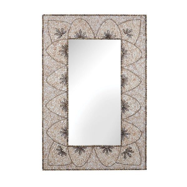 Dimond Home Flower Arc Shell Mirror