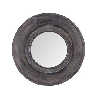 Dimond Home Dark Grey Stain Porthole Mirror