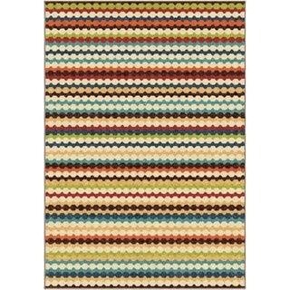 Carolina Weavers Cocamo Collection Connoisseur Multi Area Rug (5'2 x 7'6)