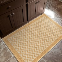 """Carolina Weavers Cocamo Collection Sandy Gold Accent Rug - 2'5"""" x 3'9"""""""