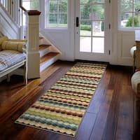 Carolina Weavers Cocamo Collection Connoisseur Multi Runner (1'10 x 7'5)