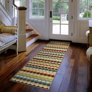 Carolina Weavers Cocamo Collection Connoisseur Multi Runner Rug - 1'10 x 7'5