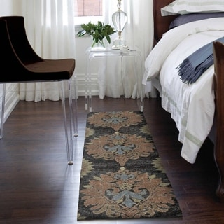 "Euphoria Collection Katie Gray Olefin Runner (2'3"" x 8')"