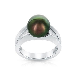 Radiance Pearl Tahitian South Sea Pearl Ring (10mm)