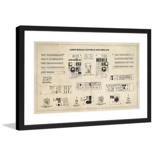 "Marmont Hill - ""Displays"" Licensed Smithsonian Framed Art Print - Multi"