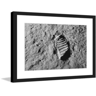 "Marmont Hill - ""Moon Walk"" Licensed Smithsonian Framed Art Print"