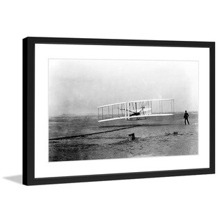 "Marmont Hill - ""Runway"" Smithsonian Licensed Framed Art Print"