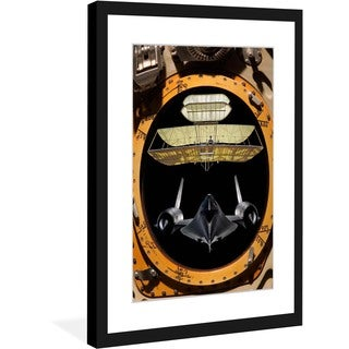 "Marmont Hill - ""Space Hatch"" Licensed Smithsonian Framed Art Print"
