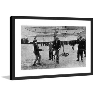 "Marmont Hill - ""Leap"" Licensed Smithsonian Framed Art Print"