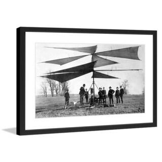 """Marmont Hill - """"Heli"""" Licensed Smithsonian Framed Art Print"""