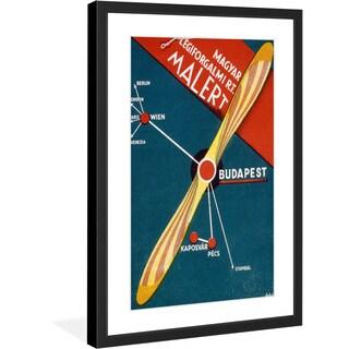 """Marmont Hill - """"Malert"""" Licensed Smithsonian Framed Art Print - Multi"""
