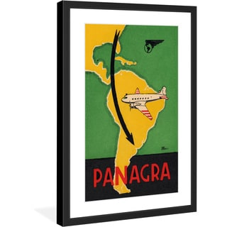 "Marmont Hill - ""Panagra"" Licensed Smithsonian Framed Art Print"