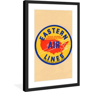 "Marmont Hill - ""Eastern Airlines"" Smithsonian Licensed Framed Art Print"