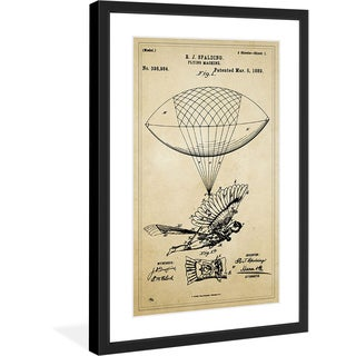 "Marmont Hill - ""Inventor"" Licensed Smithsonian Framed Art Print"