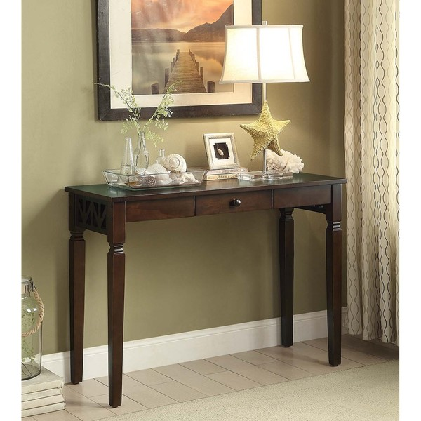Shop Etched Sofa Table With 1 Drawer