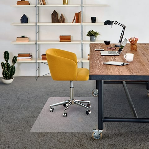 "Advantagemat® Phthalate Free Vinyl Rectangular Chair Mat for Carpets up to 1/4"" - 48"" x 60"""