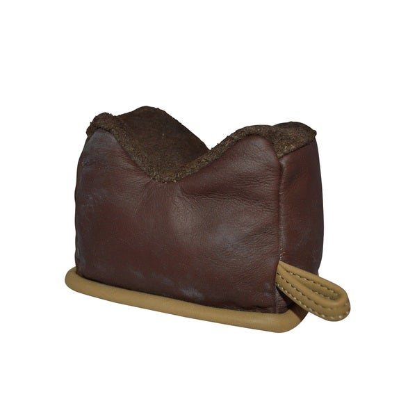 Benchmaster All Leather Small Filled Shooting Rest Bench Bag