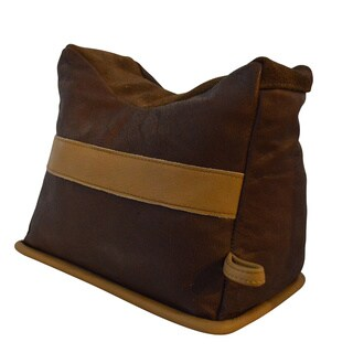 Benchmaster All Leather Large Filled Shooting Rest Bench Bag