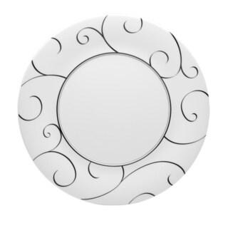 Panache 12-inch Round Platter (Set of 2)