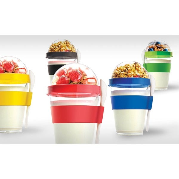 Shop Asobu Yo2Go Portable Yogurt Container Free Shipping On Orders