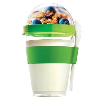 Asobu Yo2Go Portable Yogurt Container (Option: Green)