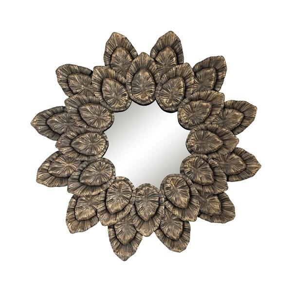 Dimond Home Metallic Petal Surround Mirror