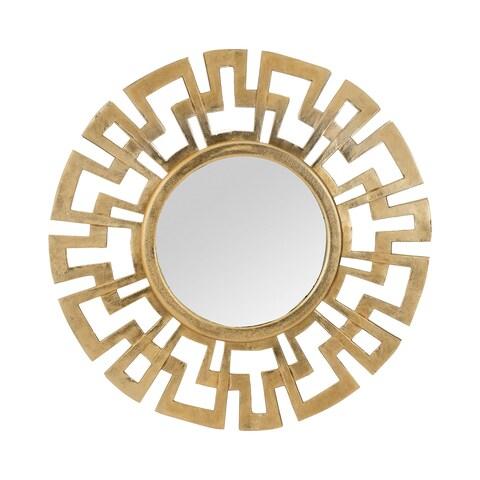 Dimond Home Greek Key Wall Mirror - Gold - N/A