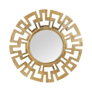 Dimond Home Greek Key Wall Mirror - Gold - N/A
