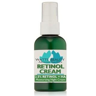 Watts Beauty 2.5-percent Retinol Cream Formula