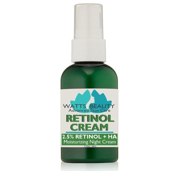 Watts Beauty 2.5-percent Retinol Cream Formula. Opens flyout.