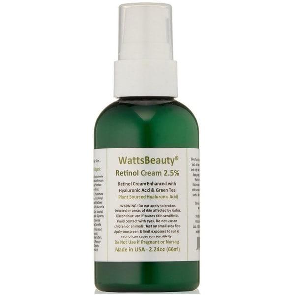 Watts Beauty 2.5-percent Retinol Cream Formula - Free