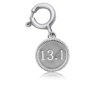 13.1 Half Marathon Sterling Silver Charm