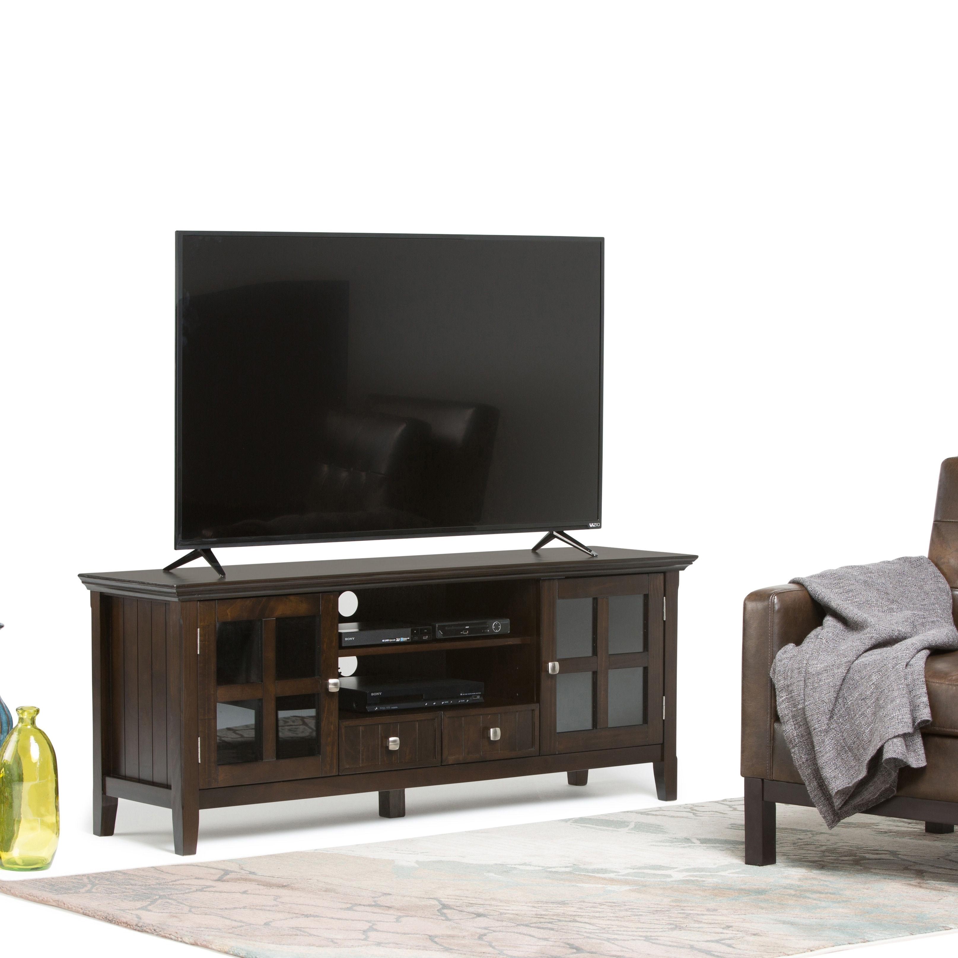 Wyndenhall Normandy 60-inch wide TV Media Stand for up to...