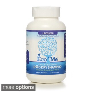 Eco-Me 16-ounce All Natural Dog Dry Shampoo (Pack of 6)