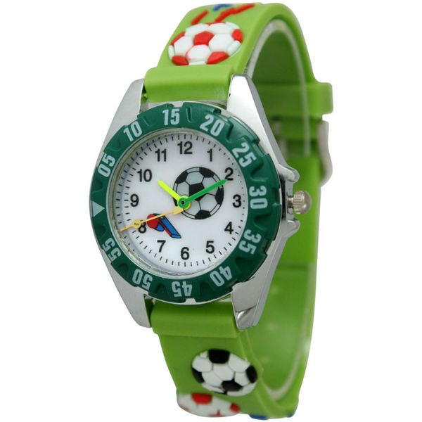 Olivia Pratt Kids' Soccer Watch - Green
