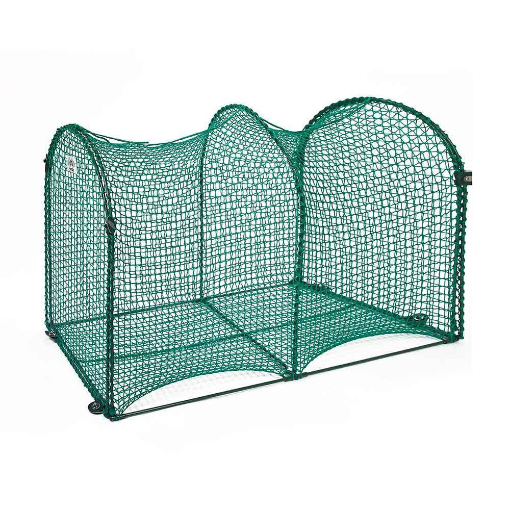 Kittywalk Deck and Patio Outdoor Cat Enclosure (Green)