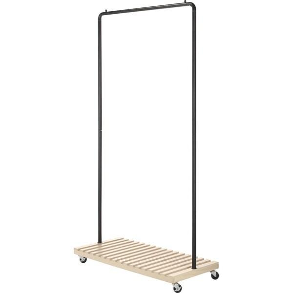 Whitmor 6301-5236-BB Slat Wood Garment Rack