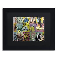 Dan Monteavaro 'IMPOSSIBLE' Black Matte, Black Framed Wall Art