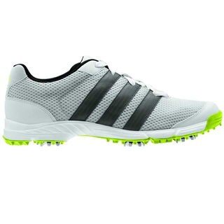 Adidas Men's Climacool Sport Metallic Silver/Dark Silver/Slime Golf Shoes (As Is Item)